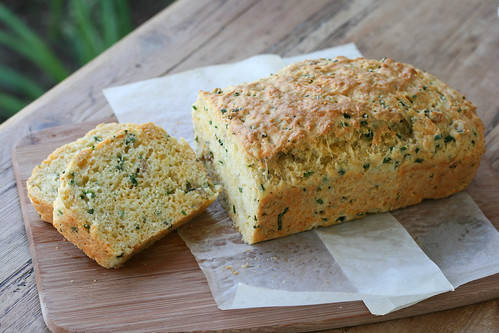 Savory Cheese and Chive Bread - French Fridays with Dorie | by Food Librarian