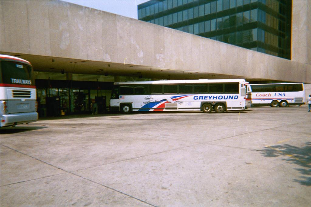 Buffalo New York Greyhound Bus Terminal By William Wilson 1974