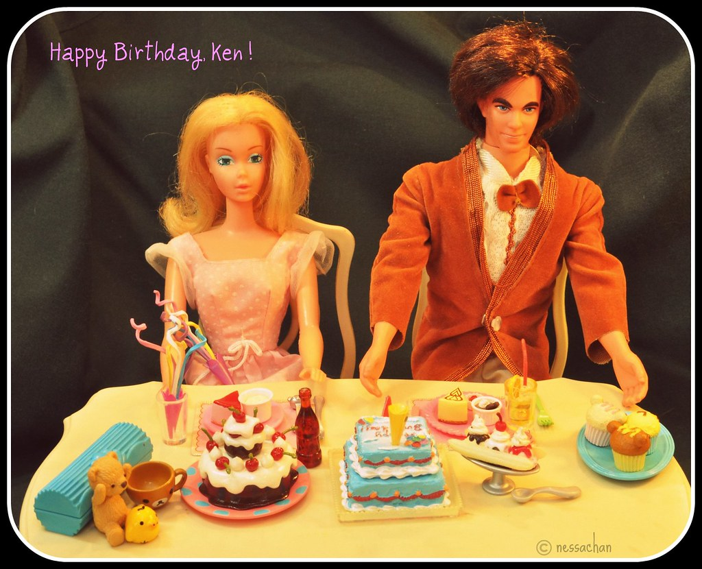 Happy Birthday Ken Mod Hair Ken Happy Birthday Ken Ken Flickr