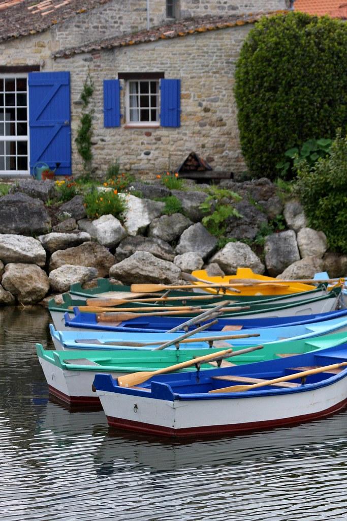 Port Des Salines Ile D Oleron Charente Maritime France Flickr