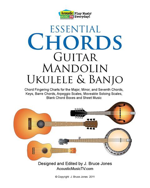 Essential Chords for Guitar, Mandolin, Ukulele & Banjo Book | Flickr