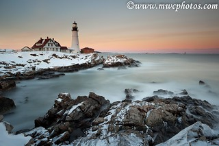Snowy Portland Head Light | by Matt Currier Photography