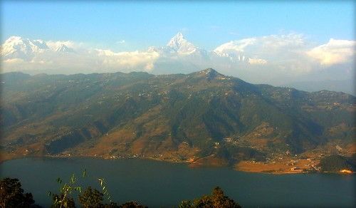 Nepal - Pokhara - View over to Sarangkot and Annapurna Range | by © Jamie Mitchell
