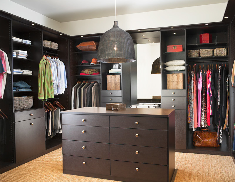 ... Walk In Closet In Lago Venetian Wenge | By CA Closets