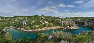 Panoramic view on Cales Coves | by B℮n