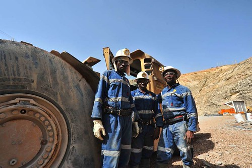 Face of Mining, Mali, West Africa | by davedyet