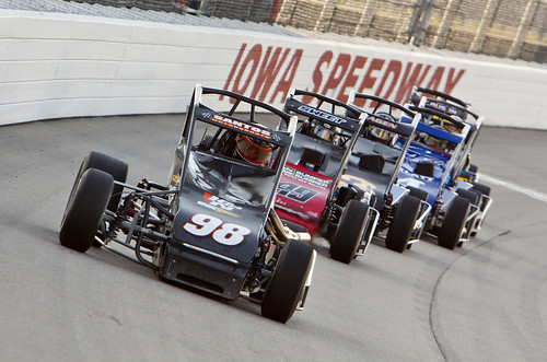 Casey's General Stores USAC Triple Crown race in Newton, IA. | by IndyCar Series