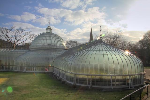 Glasgow Botanic Gardens D 60 HDR