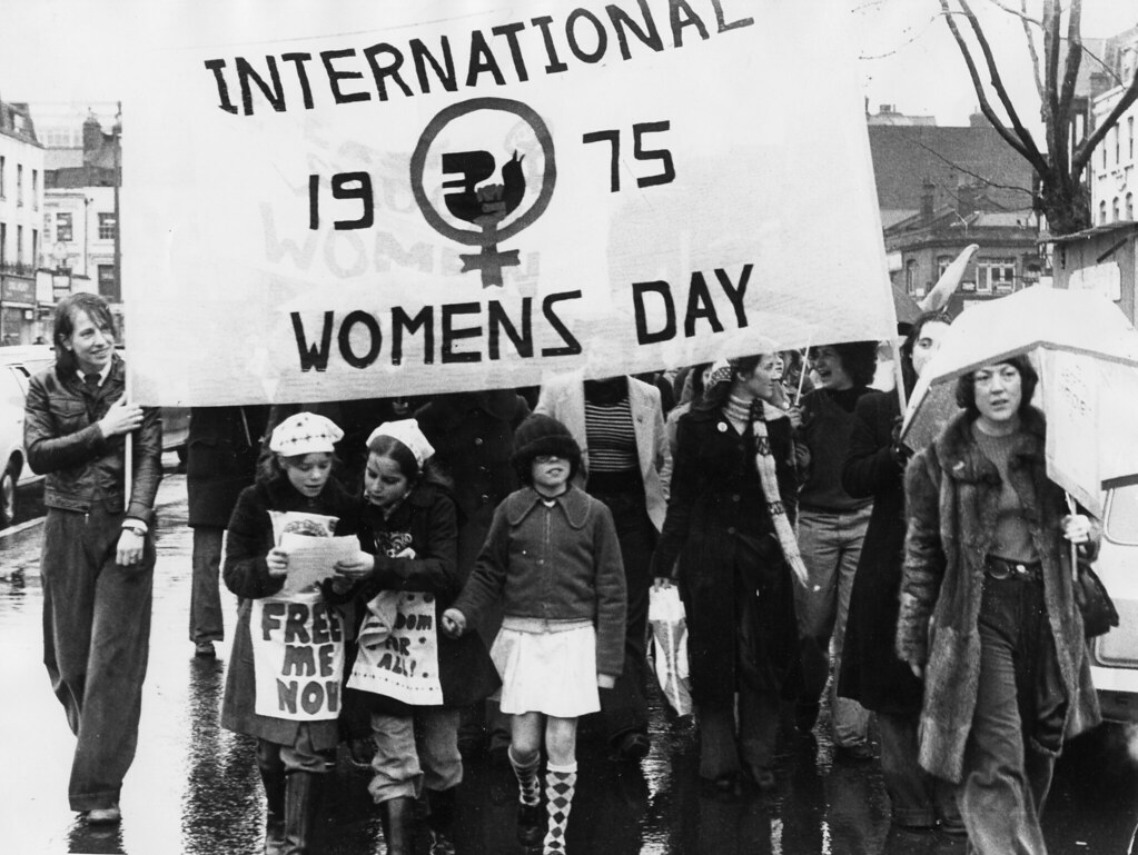 Image result for 1975 international womens day
