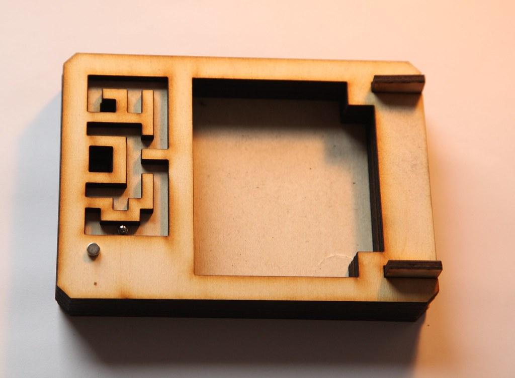 Maze Puzzle Box Instructablesidmaze Puzzle Box Flickr