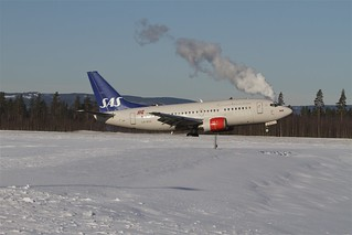 LN-BUG Scandinavian Airlines - SAS Boeing 737-505 | by Cato Lien