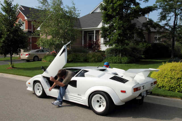 Lamborghini Countach Replica Open Door Lamborghini Countac Flickr