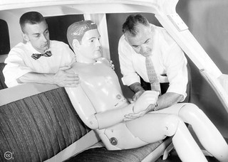 Crash Test Dummies Then and Now | by Ford Motor Company