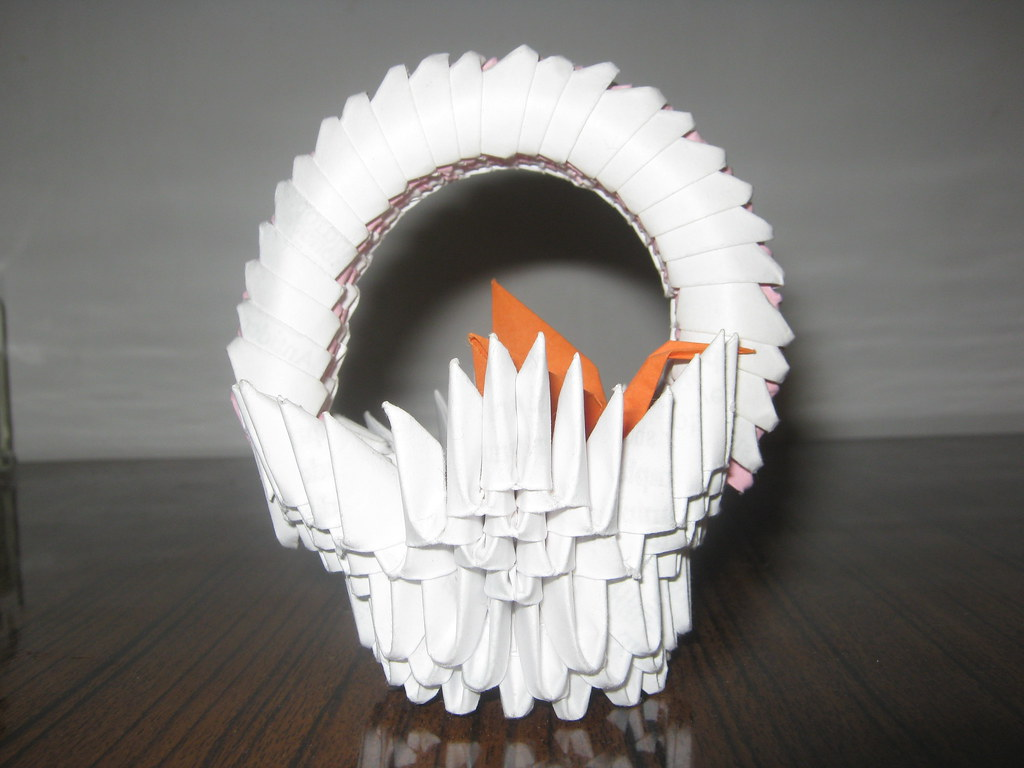 3D Origami Melody Tutorial]::The Art of folding a paper 14 ... | 768x1024