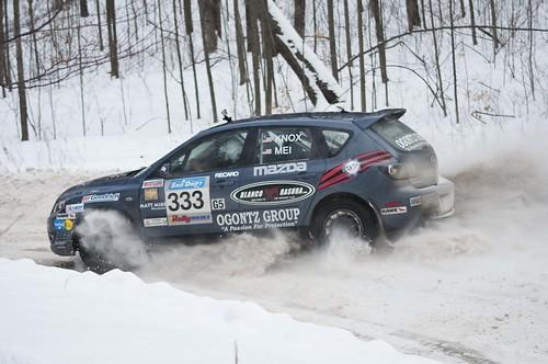 Mazda Millenia White Snow Milly Logbook: Snow Rally Up In Atlanta, MI...Amazing Time