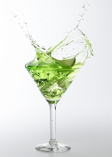 Splashing Martini Royalty Free Stock Photography - Image: 3650197