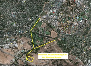 Possible Location For Private Roads On The Stanford University Lands | by wmartin46