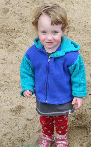 Katie Rose in the Sandbox