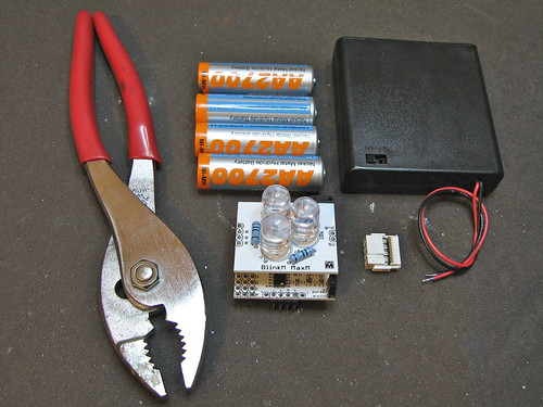 BlinkM Battery Pack: Step 1: Get all the parts together | by todbot