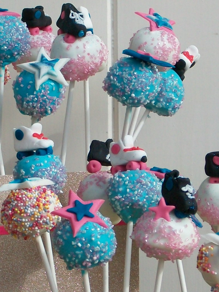 Roller Skate Cake Pops By Themimosabakery