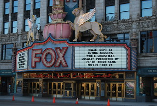 Fox Theater Marquee, Detroit | by artistmac