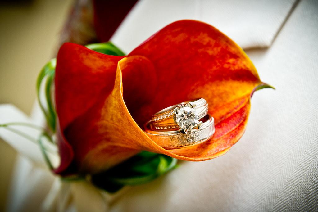 Creative Wedding Ring Photo - Orange Calla Lilly   We grabbe…   Flickr