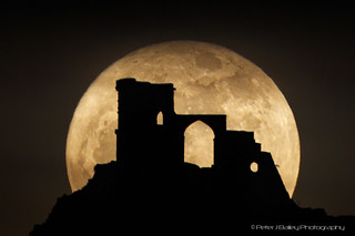 Super Moon and Mow Cop | by Peter J Bailey - Saxon Studio