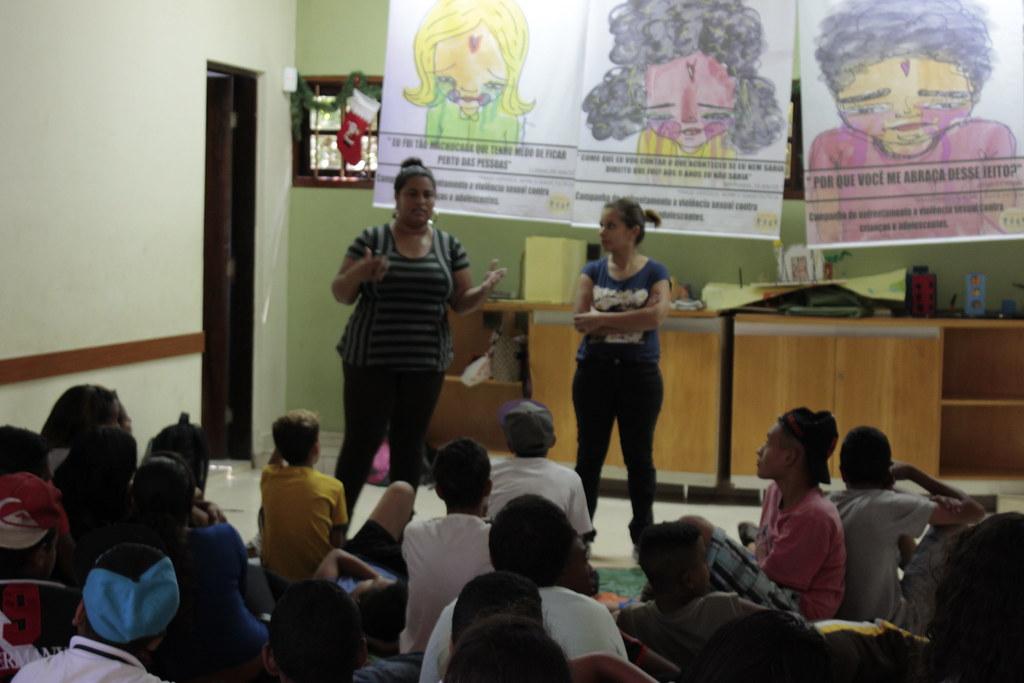 Campanha Todo dia é dia 18 na Vivenda da Criança