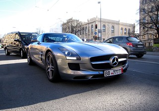 Mercedes SLS AMG in Munich | by Frankenspotter Photography