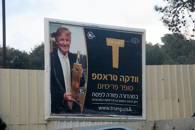 Donald Trump and Kosher-for-Passover Vodka