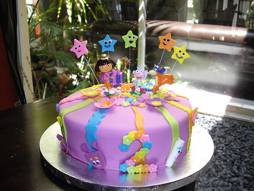 Dora Cake Recipe In English: Gina Choo Quan