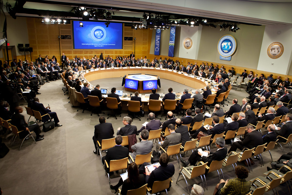 Imfc plenary photograph imfc governors meet at their imfc flickr imfc plenary photograph by international monetary fund sciox Images