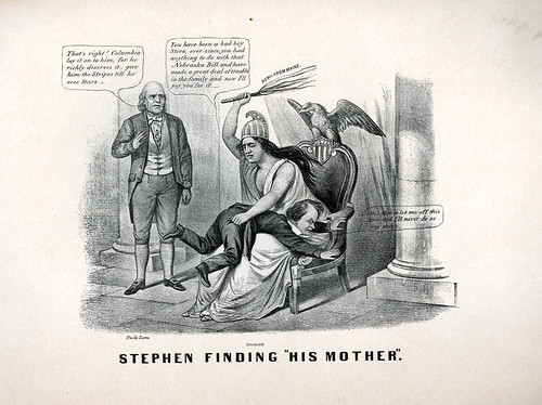 1860 Stephen Douglas Political Cartoon | by captainpandapants