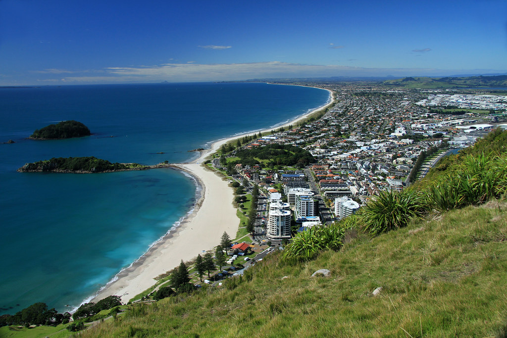 Walking up Mount Maunganui 09