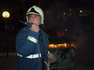 Greek fireman deals with aftermath of football fan riot in Thessaloniki | by Teacher Dude's BBQ