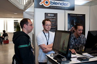 Blender booth crew | by Julian|H