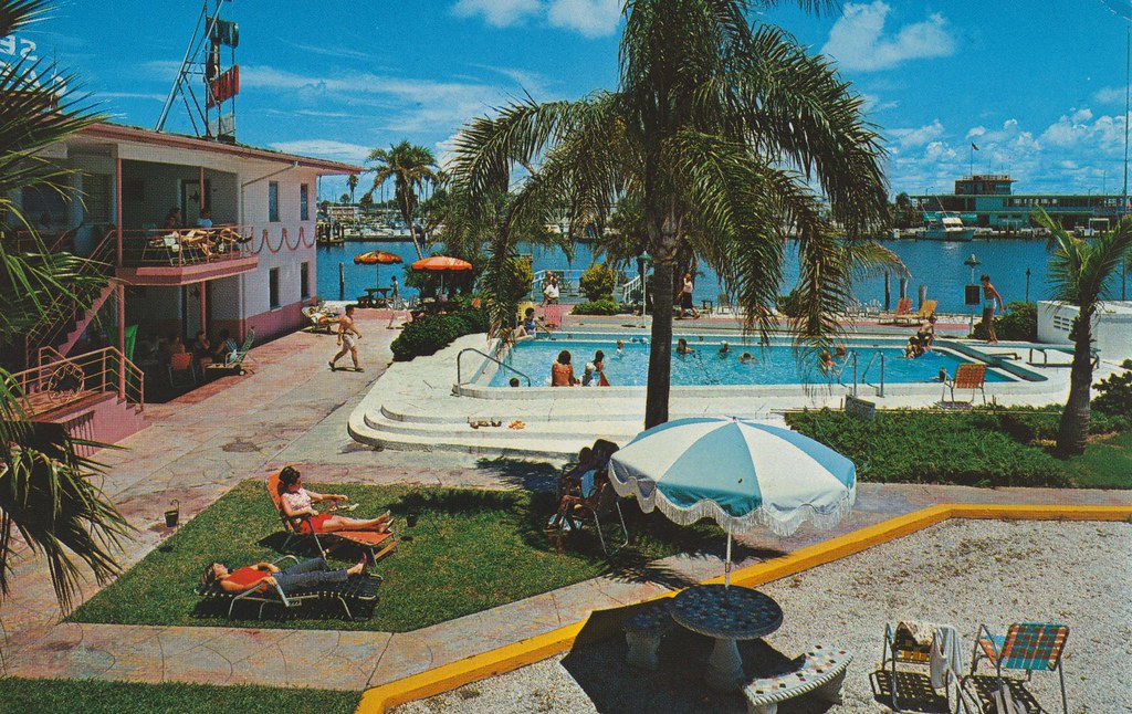 Sea Captain Motel - Clearwater Beach, Florida