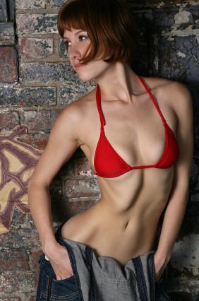 Skinny redhead pics