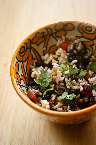 Rice and Black Bean Salad (1 of 1) | by bell.ab