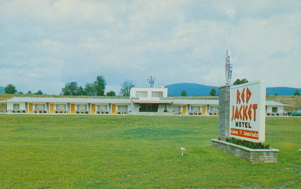 Red Jacket Motel - Elmira, New York