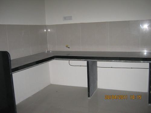 Black Granite Kitchen Benchtops