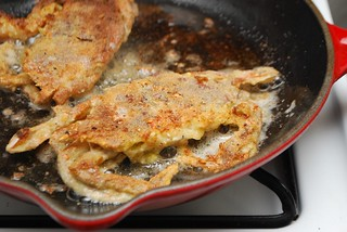 frying soft-shell crabs | by Alejandra of Always Order Dessert