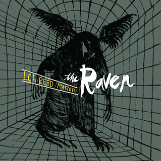 The Raven by Lou Reed & Lorenzo Mattotti - cover design by Jesse LeDoux | by fantagraphics