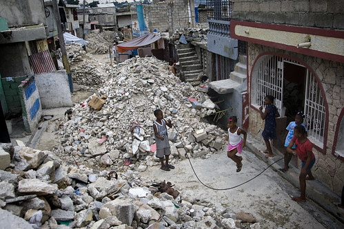 Earthquake Debris Continues to Clog Port-au-Prince Streets | by United Nations Photo