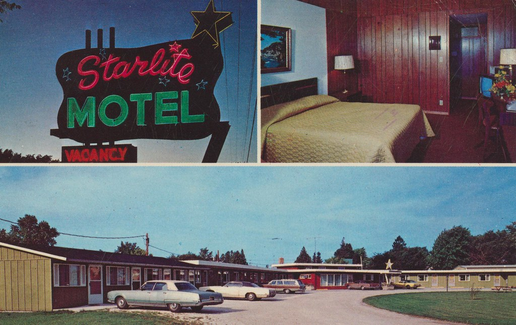 Starlite Motel - New Holstein, Wisconsin