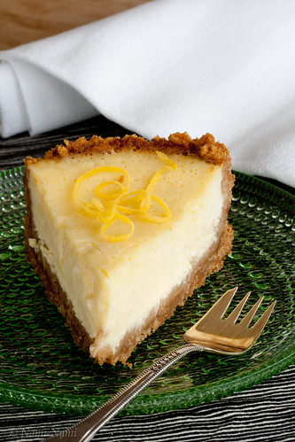 Baked Lemon Cheesecake | by Pille - Nami-nami