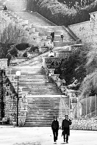 Stairway to/from where??? - Il Passetto - Ancona - Italy. | by castgen