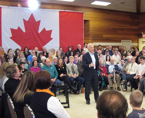 Jack Layton talks health care | by BruceHyerMP