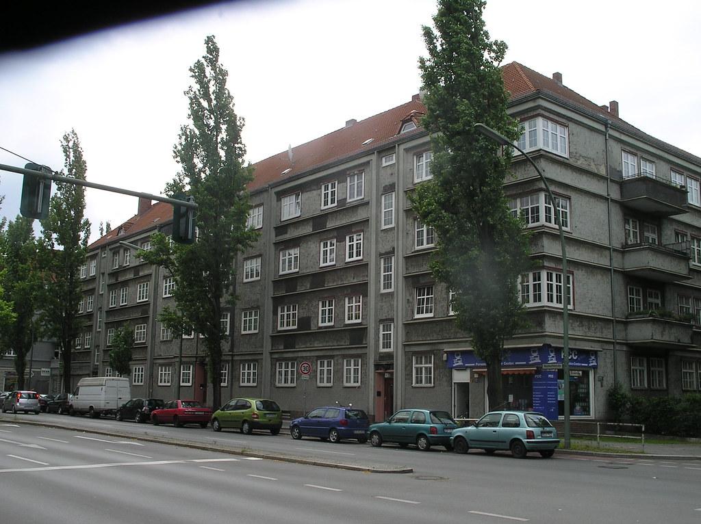 1925 28 Berlin Wohnanlage Mit Expressiver Fassade Von Walt Flickr