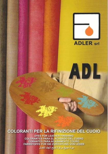 Leather coloring dyes - liquid solutions - Adler | ADL dyes … | Flickr